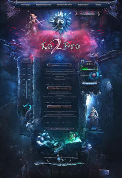 Lineage 2 Pro Server Game Website Template